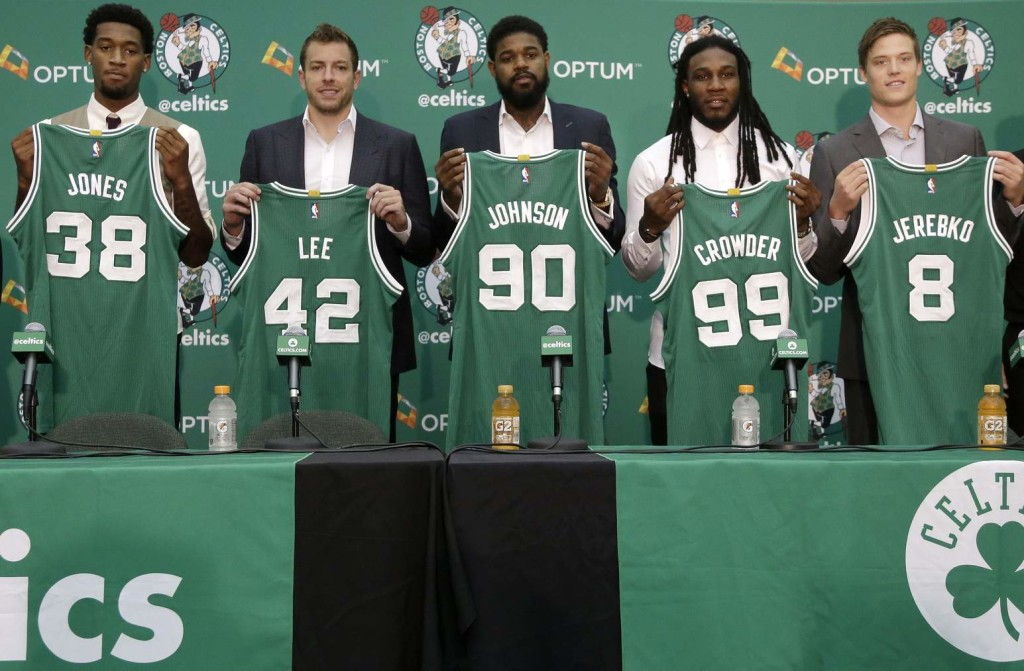 Celtics Introduce Their Summer Additions - CelticsHub